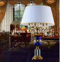 Modern D500mm H850mm Modern Luxury LED Fashion K9 Crystal Table Lamp Luxury High Quality Crystal Table