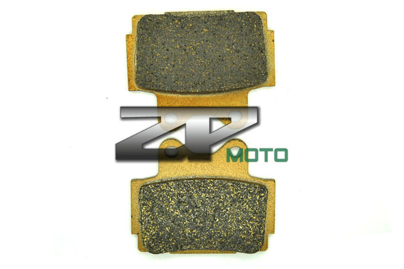 Organic Kevlar Brake Pads For XJ 600 S Diversion 92-03 XJ 600N 95-03 SRX 600 90-91 FZS 600 Fazer 98-03 FZ 600 87-88 Rear New