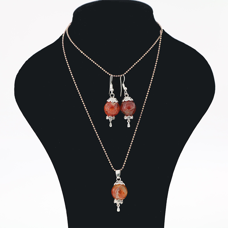Guardian Angel Series Fashion Jewelry Natural Stone Bead Necklaces Pendant Necklaces Family & Friends Gifts