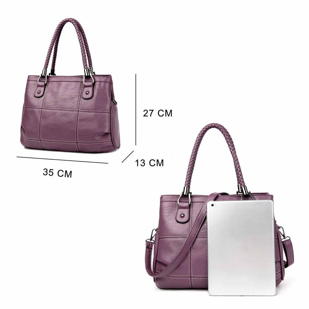 Wanita Messenger Tas untuk Wanita Tas Kulit Wanita Tas Desainer Berkualitas Tinggi Crossbody Tas Bahu Tas Bolsos 3065