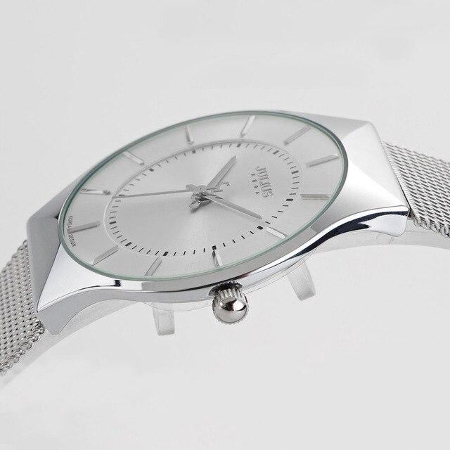 Zegarek męski JULIUS stal nierdzewna klasyczny minimalistyczny projekt