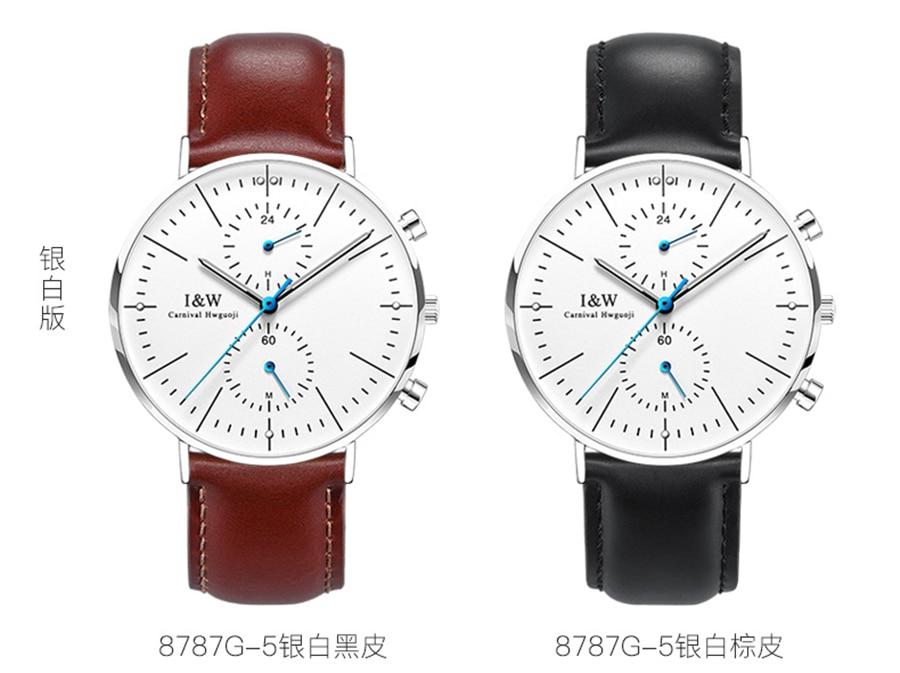 Projeto Homens Relógio de Safira Genuíno Couro
