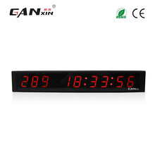 [Ganxin]Red Color Cheap Small Count Down Clock For Wall Mounting