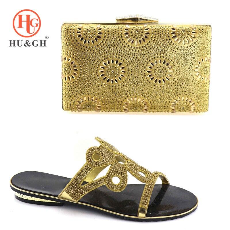 Azul Mujeres Imitación Juego Diamantes A Y De Con Africanas oro Italia púrpura Decorado Las Italiano 2018 Bolso Color Zapatos Oro w7qZFxAXT