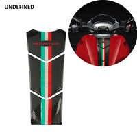 3D de la motocicleta con apariencia de fibra de carbono de aceite protector para almohadilla de depósito etiqueta pegatinas Moto para Ducati Monster 600, 620, 750, 821, 900, 1998-2019
