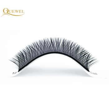 Y Shape Eyelashes Extensions Double Tip Lash Eyelash Cilios Y Natural Easily Grafting Y Style Volume Eye lashes Faux Mink Quewel