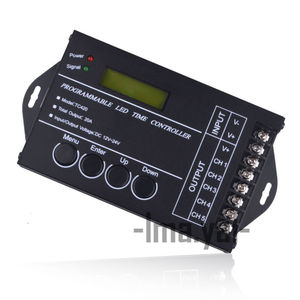 Image 2 - WIF Time programable RGB LED Controller TC421 AND TC420 DC12V/24V 5Channel Total Output 20A Common Anode Programmable