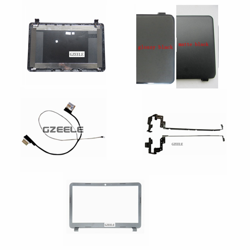 New Laptop Top LCD Back Cover for HP 15-G 15-R 15-T 15-H 15-Z 15-250 15-R221TX 15-G001XX 15-G010DX 250 G3 255 G3 15-G074NR N2815 laptop new original black for hp for touchsmart xt 15 15 4000ea series lcd top cover