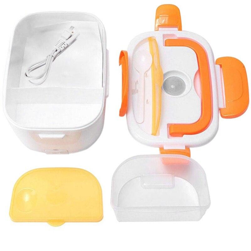 1.05л Электрический Ланч-бокс 110/220 в/Автомобильная вилка пищевой контейнер для еды подогреватель еды для 4 пряжек наборы посуды