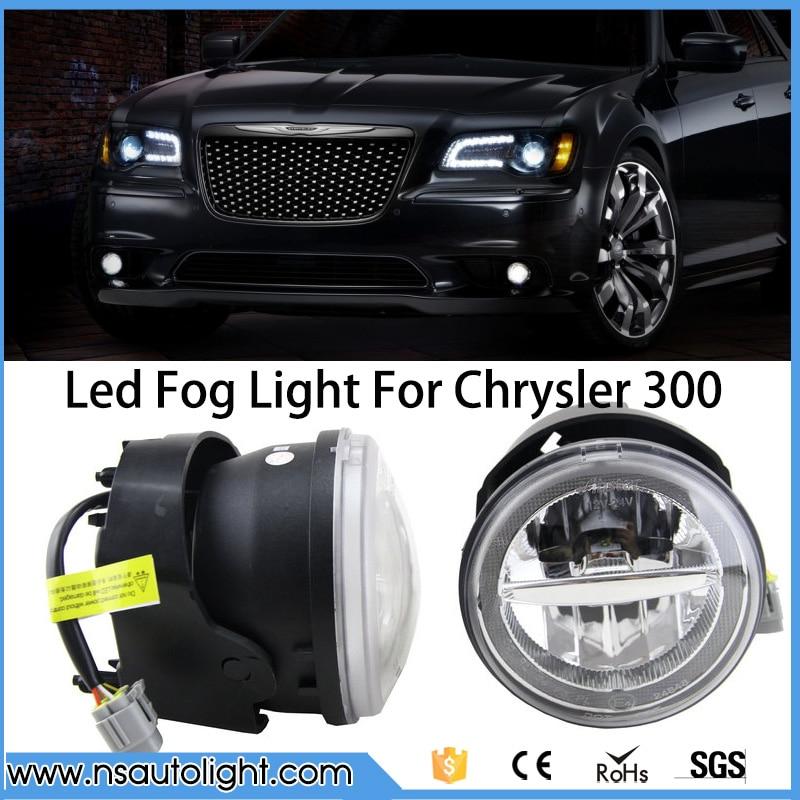 LED Fog Light/Driving Light/DRL/LED Front Lamp For Chrysler 300 Base Sedan 4-Door 05-06 For Chrysler 300  C Sedan 4-Door  05-10 pair car 55w h11 front bumper driving fog light lamp for audi a4 b6 sedan 02 05 03 04
