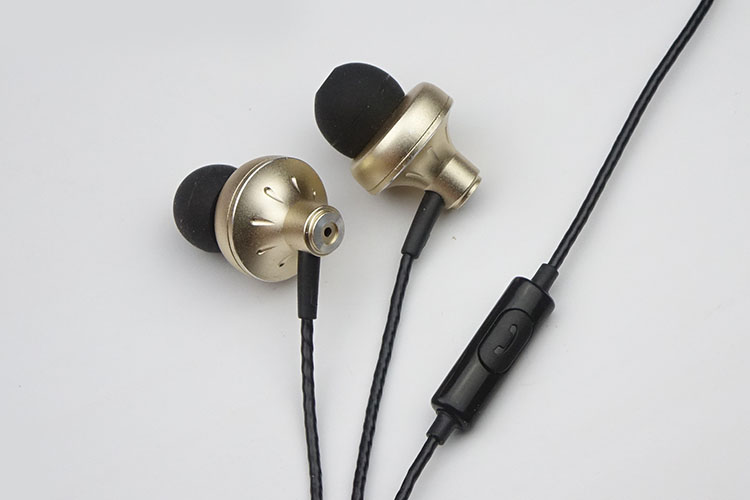 DIY metal bass earbuds use Double moving coil unit image