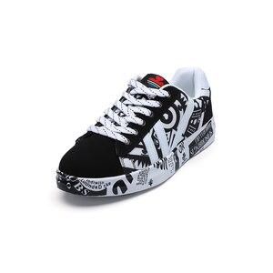 Image 4 - TYDZSMT 2020 קיץ אישה סניקרס לבן נעליים יומיומיות אוהבי הדפסת אופנה נשים שטוחות גופר נעלי Zapatos de mujer