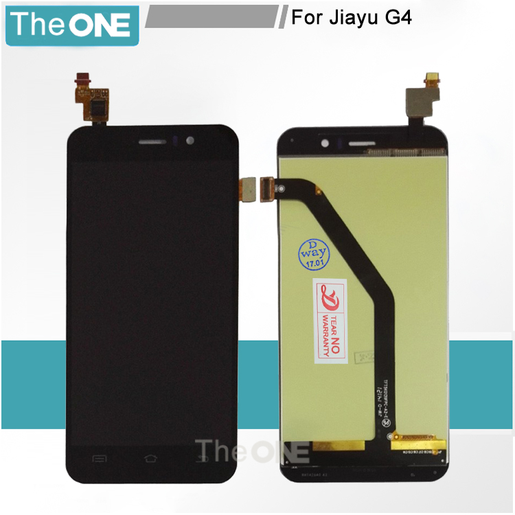 for JIAYU G4 JY-G4 Black / White LCD Display Panel Screen Monitor Moudle + Touch Screen Digitizer Glass Sensor Lens Assembly a lcd display for jiayu g2 jy g2 lcd