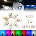 Lo nuevo T10 W5W LED Coche de Luz Interior Cob DC 12 V Free Error Canbus Del Coche Luz de Estacionamiento inversa Bombillas de Luces de Estilo para coches