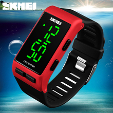 купить SKMEI Women Sports Electronic Watches Fitness LED Display Watches Ladies Waterproof Wristwatches Reloj Deportivo Digitales Mujer по цене 692.34 рублей