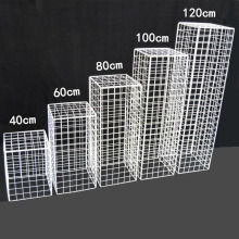New Wrought Iron Grid Road Lead Wedding Background Shelf Props Arch Stage Decoration