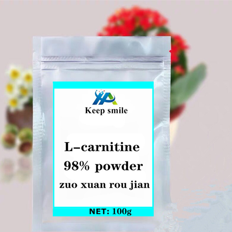 L-carnitine powder 98% lose weight supplements fat burner slimming acetyl sports nutrition cyanide antidote help build muscle. image