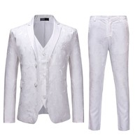 fd5b3350f221d Formal Men S Suit Slim 3 Piece Blazer Business Men Suits For Wedding Party  Jacket Vest. US $78.45 US $55.70. Resmi erkek Takım Elbise Ince 3 Parça  Blazer Iş ...