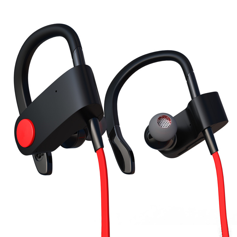New GDLYL headset sports bluetooth headset wireless Earphone 4.1 wireless Bluetooth headset jogging binaural headset hanging ear