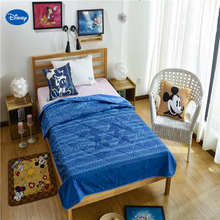 Disney Cartoon Mickey Mouse Quilts Summer Comforter Bedding Cotton Covers  Child Boys Baby Bedroom Decor 150