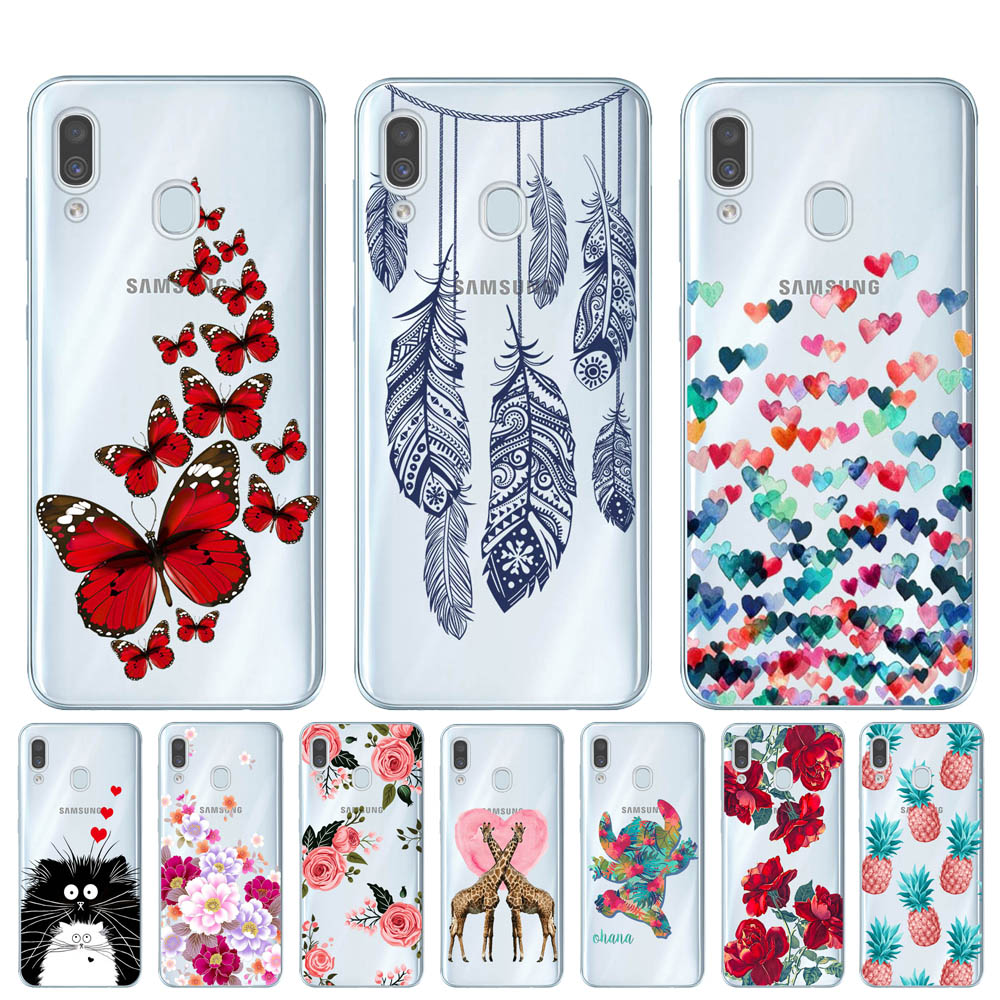 Case For Samsung Galaxy A50 SM-A505F Case Soft Silicone Back Cover Phone Case For Coque Samsung A30 A305F A10 A20 A40 A70 Cases image