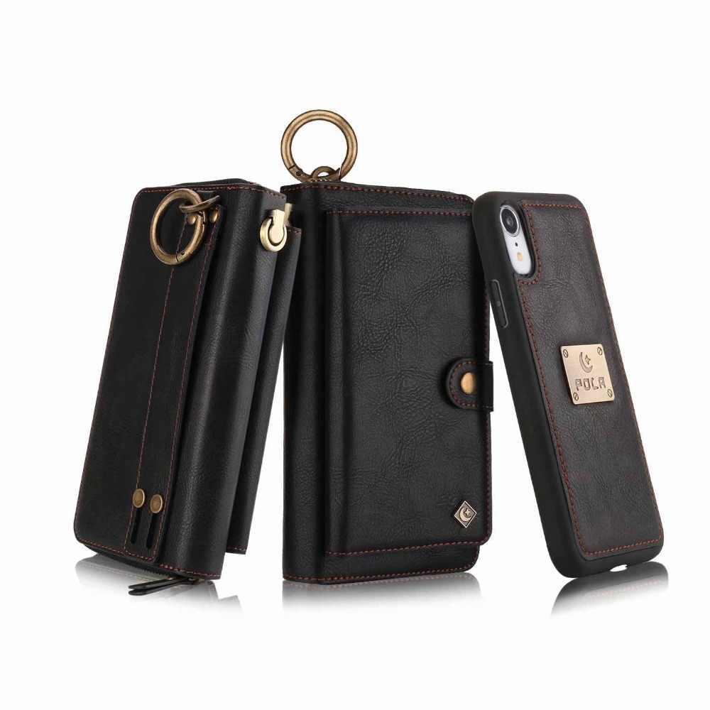 Кошелек Браслет чехол для телефона для coque iphone 11 Pro X Xr Xs Max 6 6s 7 8 Plus Funda Etui роскошный кожаный защитный чехол для телефона сумка