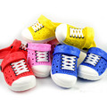 Free shipping ! 2016 New Summer Baby Boys Girls Sandals Soft Clogs Breathable Shoes Children Slippers 4 Colors !