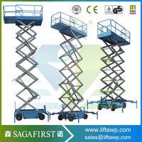 Подвижные 14 м Liffting высота Электрический Лифт Scissor для продажи, тележки погрузчик поддонов