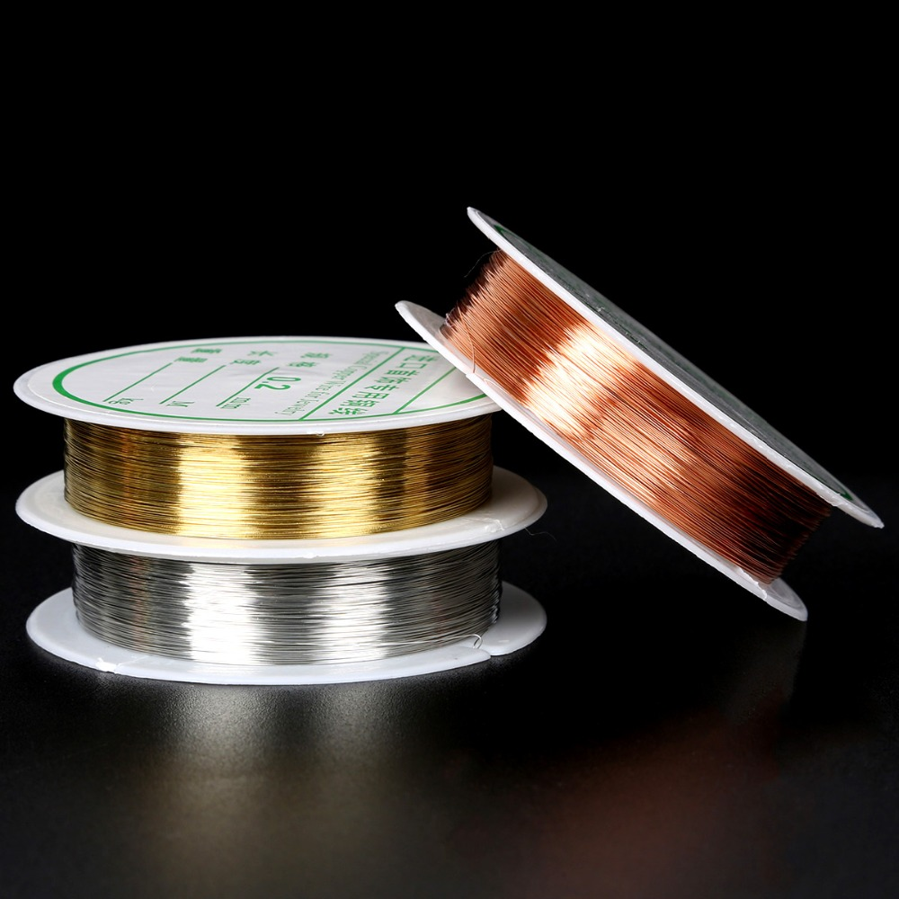 120Ft. Coil // 2 Oz 24 Ga Solid Yellow Brass Jewelry /& Craft Wire SOFT