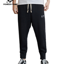 Pants Men Japanese-Style Pioneer Camp Trousers Stretch Sports-Beam Men's Cotton Summer