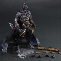 27CM DC Batman Figure PLAY ARTS Batman Armored Ver BJD Action Figure Model Toys for Fans Gift