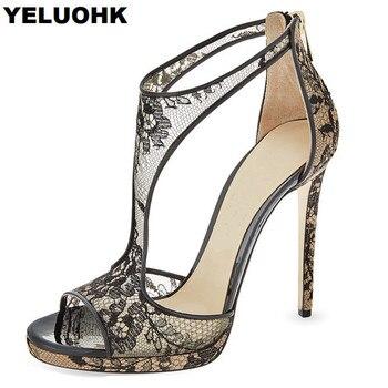 46df8ba829 Sexy sapatos de Salto Alto Mulheres Sandálias Dedos Abertos Sapatos De Casamento  Mulheres Bombas de Mulheres Da Moda Verão 2018 Sapatos de Festa De Salto ...