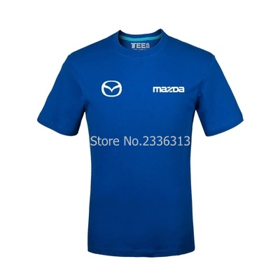 Men And Women Tooling 4s Shop Uniforms Short-sleeved Mazda T-shirt Custom Cotton Car Standard T Shirt Tops & Tees