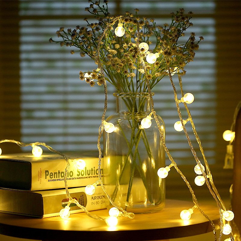 Party Centerpiece 2M 20 LED Cherry Ball Bulb String Lights Garland LED Christmas Decorations Festival Outdoor Xmas Wedding DecorParty Centerpiece 2M 20 LED Cherry Ball Bulb String Lights Garland LED Christmas Decorations Festival Outdoor Xmas Wedding Decor