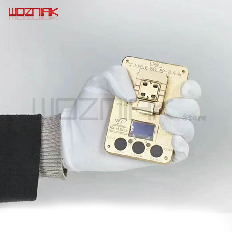 Wozniak WL PCIE NAND Programmer per iPhone x 8g 8p 7P 7 6SP ios11 HDD - Set di attrezzi - Fotografia 4