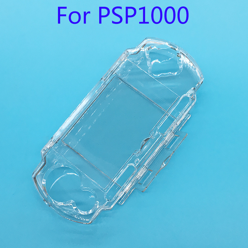 Clear Transparent Hard Case Protective Cover Shell for Sony PlayStation Portable PSP 1000 console Crystal Body ProtectorClear Transparent Hard Case Protective Cover Shell for Sony PlayStation Portable PSP 1000 console Crystal Body Protector