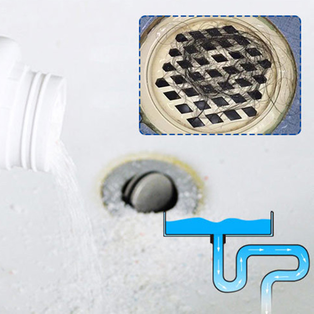 Image 3 - Kitchen Sewer Pipes Deodorant Strong Pipeline Dredge Agent Toilet Cleaning Tool Strong Pipeline Dredge Aagent Toilet To Clear-in Drain Cleaners from Home & Garden