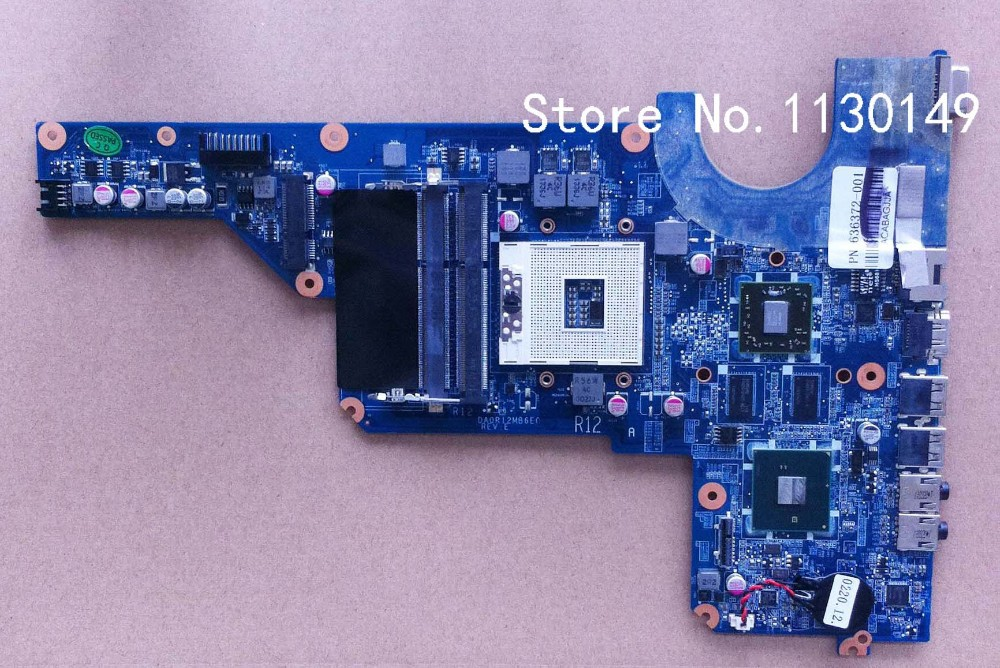 ФОТО Free Shipping 636372-001 for HP pavilion G4 G6 laptop motherboard HM55 chipset 6470/1G DA0R12MB6E0 100% Tested 60 days warranty