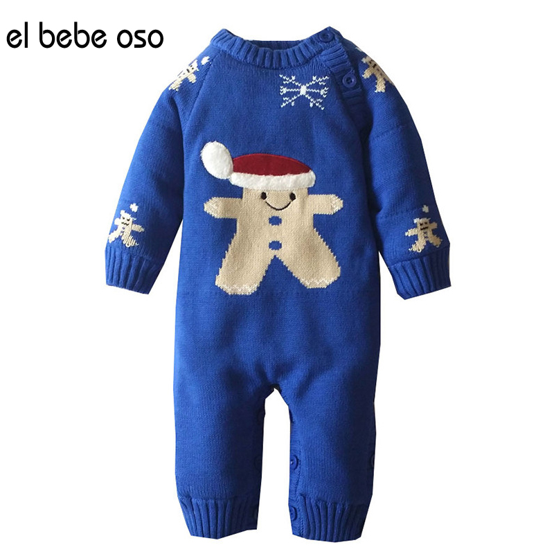 el bebe oso Newborn Baby Unisex Clothing Winter Boy Rompers Cartoon O-Neck Infant Clothes Down Snowsuit Babies Jumpsuits XL505 newborn baby girls rompers cotton padded thick winter clothing set cartoon bear infant climb hooded clothes babies boy jumpsuits