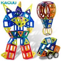 150 шт. большой Размеры конструкций магнитных блоков здания 3D DIY игрушка с животными и автомобиль Стайлинг развивающие игры и игрушки для дет