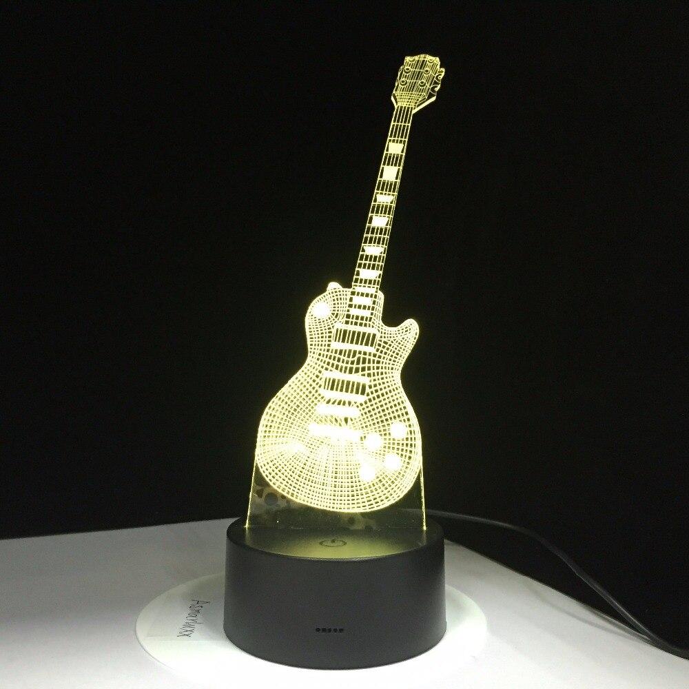 tearsComprar Lámpara Guitarra 3D beyond LED my 7 Eléctrica thQdrs