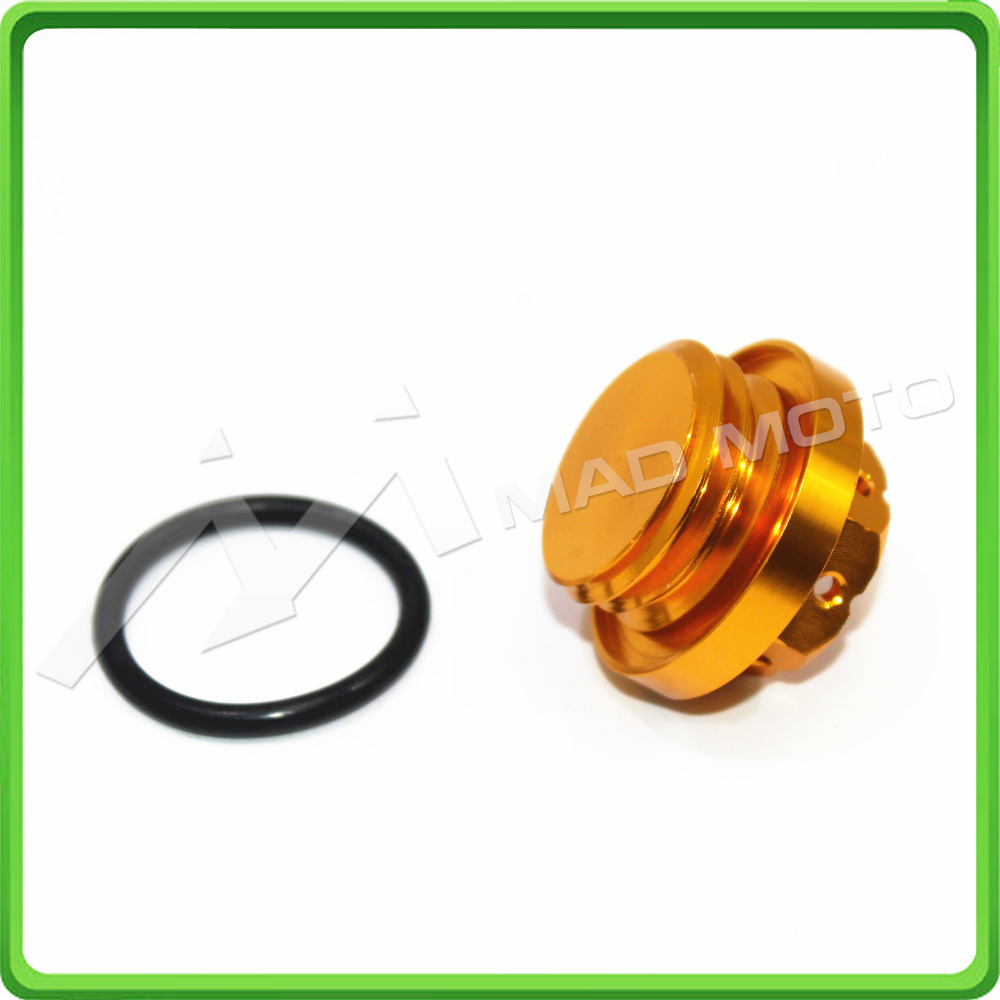 M20x1.5mm M20*1.5mm Oil Filler Filter Cap For Moto Guzzi Griso 1100 2005 2006 2007 2008 & Yamaha YZ250F 2003 2004 2005 Gold pair steel front brake rotors disc braking disks for moto guzzi norge t gtl 850 2007 breva 1100 2005 2007 stelvio 1200 2008 2009