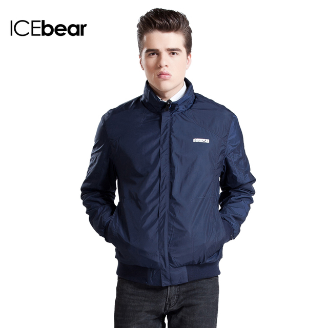 Icebear 2016 двусторонняя носить 3 цветов тонкий хлопок весна мужчины свободного покроя с карманом на молнии Napapijri короткая куртка пальто 15MJ653