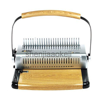 A4Paper GD 5600 manual bookbinding machine rubber ring binding machine comb binder 500sheet binding 25sheets punch