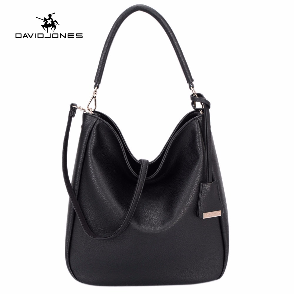 DAVIDJONES women messenger bags pu leather female shoulder bags large lady travel crossbody bag girl brand handbag drop shipping цена 2017