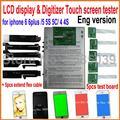 Новый 7 in1 ЖК Сенсорный Экран Digitizer Тестирование Тестер для iphone 4 4S 5 5S 5С 6 6 плюс полный набор с ручным и видео
