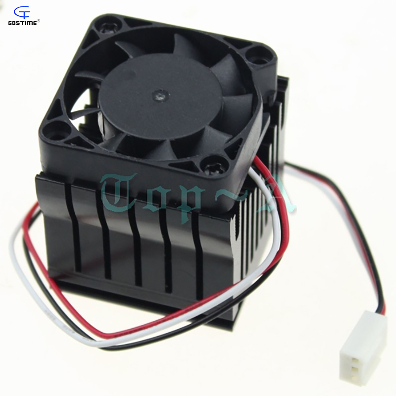 2pcs PC Computer Motherboard South Bridge Radiator Southbridge Radiator Northbridge Cooler Cooling Fan 40mm x 10mm personal computer graphics cards fan cooler replacements fit for pc graphics cards cooling fan 12v 0 1a graphic fan