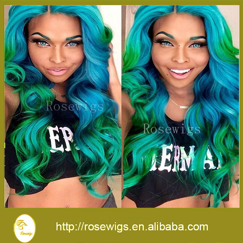 Amazing ombre color bluegreen 6a wet loose wave virgin brazilian amazing ombre color bluegreen 6a wet loose wave virgin brazilian hair body wave cheap human hair extension 3packs in hair weaves from hair extensions pmusecretfo Gallery