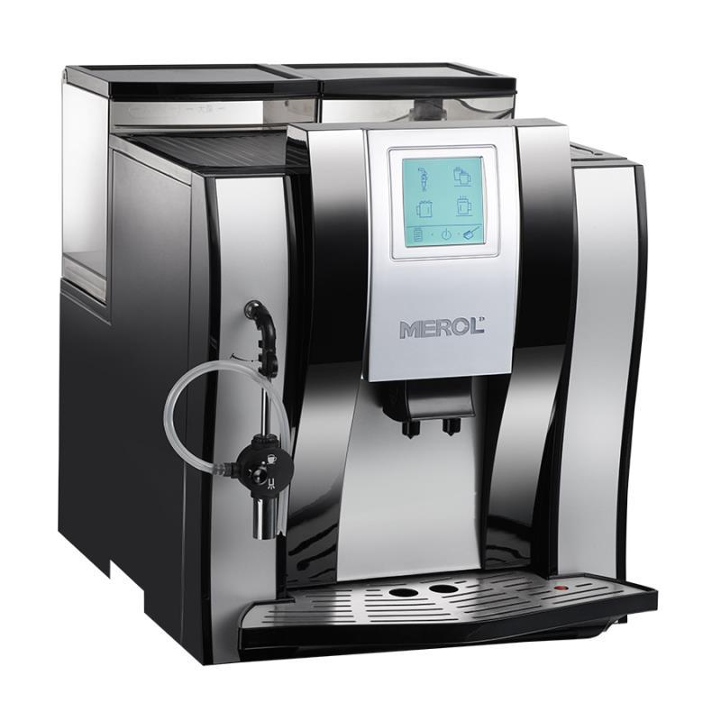 MEROL ME-710 Full-Auto Coffee Machine Coffee Makers Espresso Coffee Machine Full automatic coffee machine Touch screen machine coffee purifying tablets tablets for a coffee machine automatic coffee machine cleaning coffee machine 9pcs pack