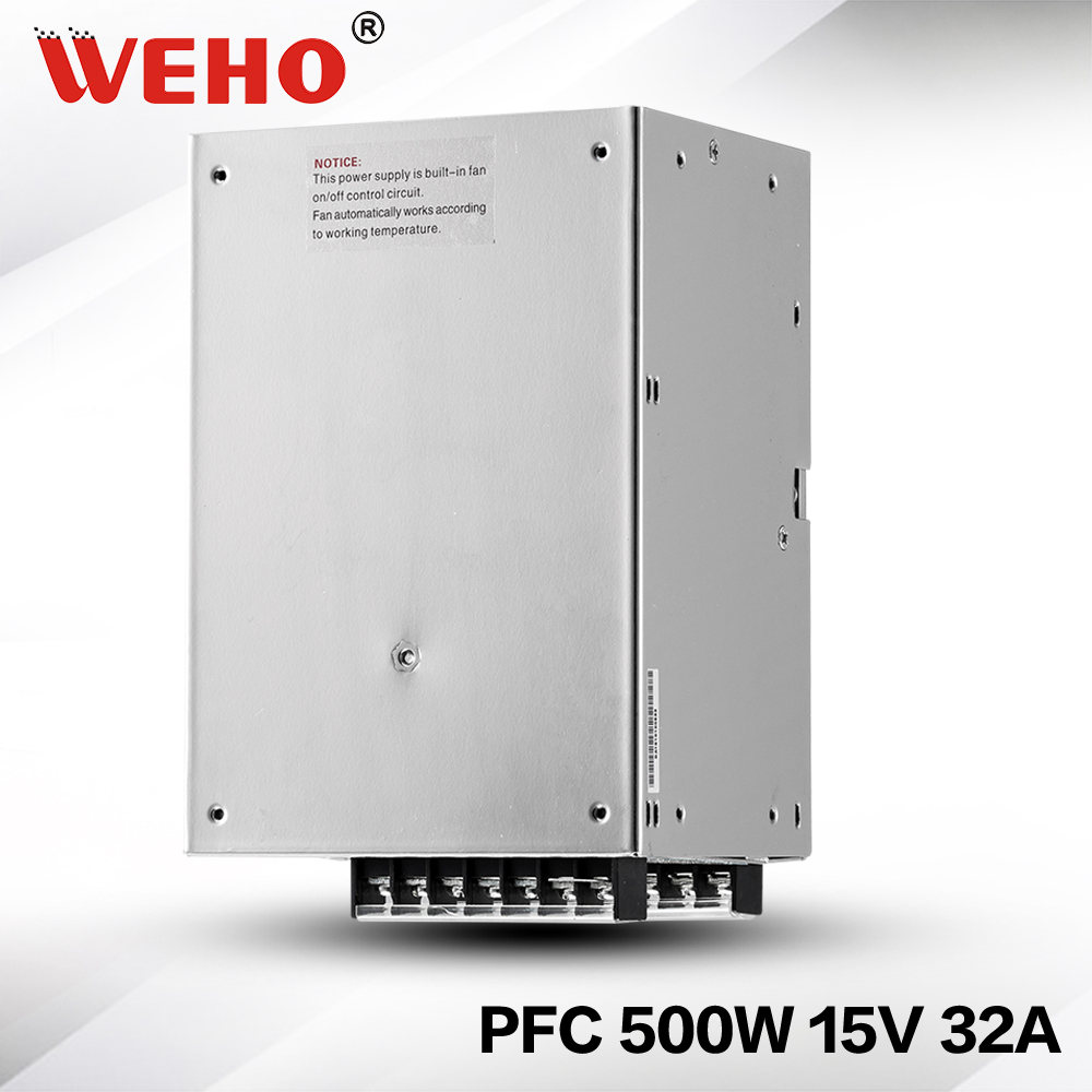 (SP-500-15) 500W 15VDC 32A Switching Power Supply with PFC function 85-264VAC input rps369 10 pieces per lot 36 vdc 9 7a regulated switching power supply with 85 132 176 265 vac input